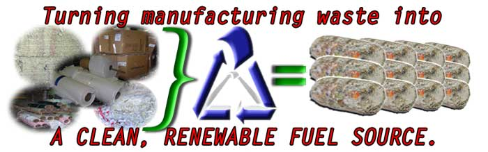 We recycle and produce alternative fuel sources